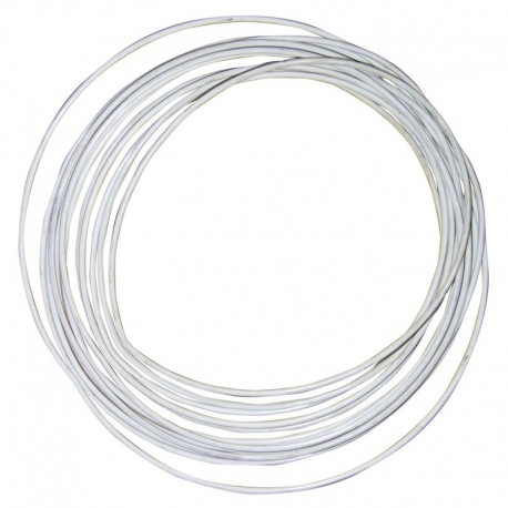 Cable inoxidable AISI-316 plastificado.