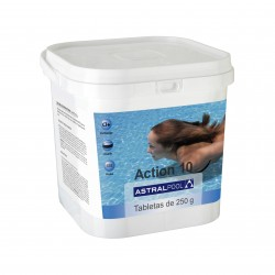 Action 10 en tabletas de 250 gr Astralpool